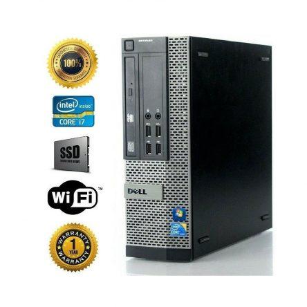 Dell Desktop Computer I7 3770 3.4ghz Quad Core SSD + 500GB HD 16GB RAM Win10 SFF
