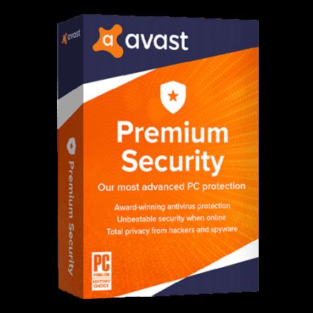 Avast Premium Security 2021 1 Years (3 Device)